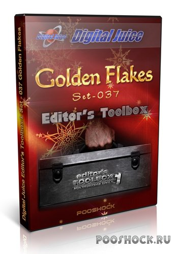 Digital Juice - Editor's Toolbox I.Theme Set: 037 Golden Flakes