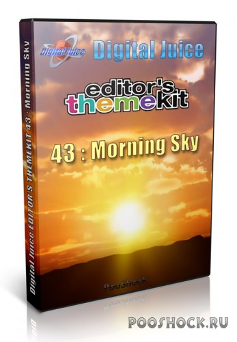 Digital Juice - EDITOR'S THEMEKIT 43: Morning Sky