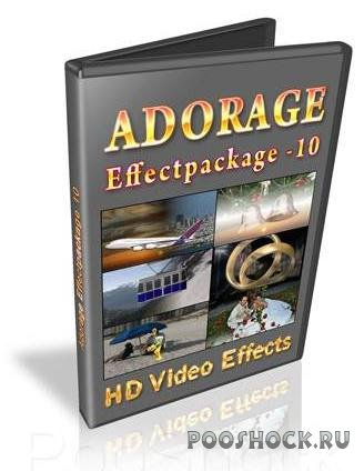 Adorage Effectpackage HD Video Effects v.10 Multilingual