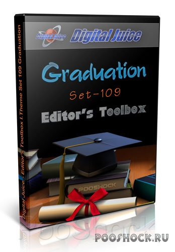 Digital Juice - Editor's Toolbox I.Theme Set 109 Graduation