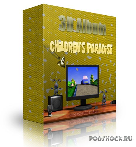 3D Album – Children's Paradise