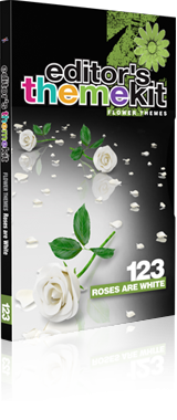 Digital Juice - EDITOR'S THEMEKIT 123: Roses are White