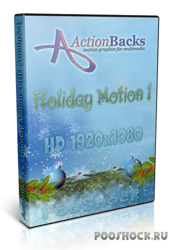 ActionBacks - Holiday Motion 1 (HD - 1080p24)