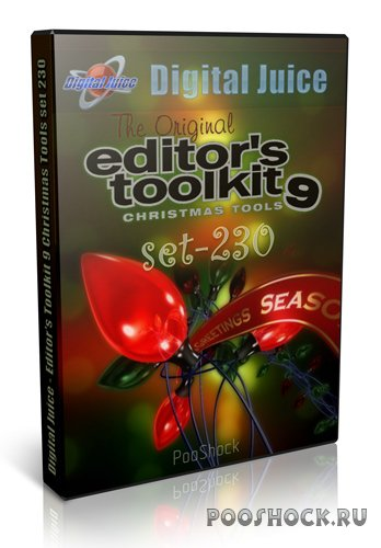 Digital Juice - Editor's Toolkit 9 Christmas Tools set 230