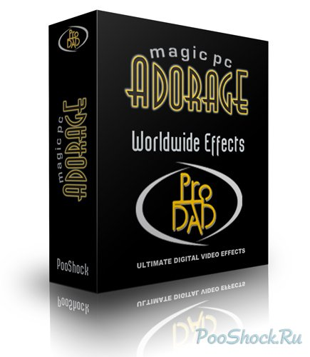 "proDAD Adorage Effects Package Vol.12 - ""Worldwide Effects"""