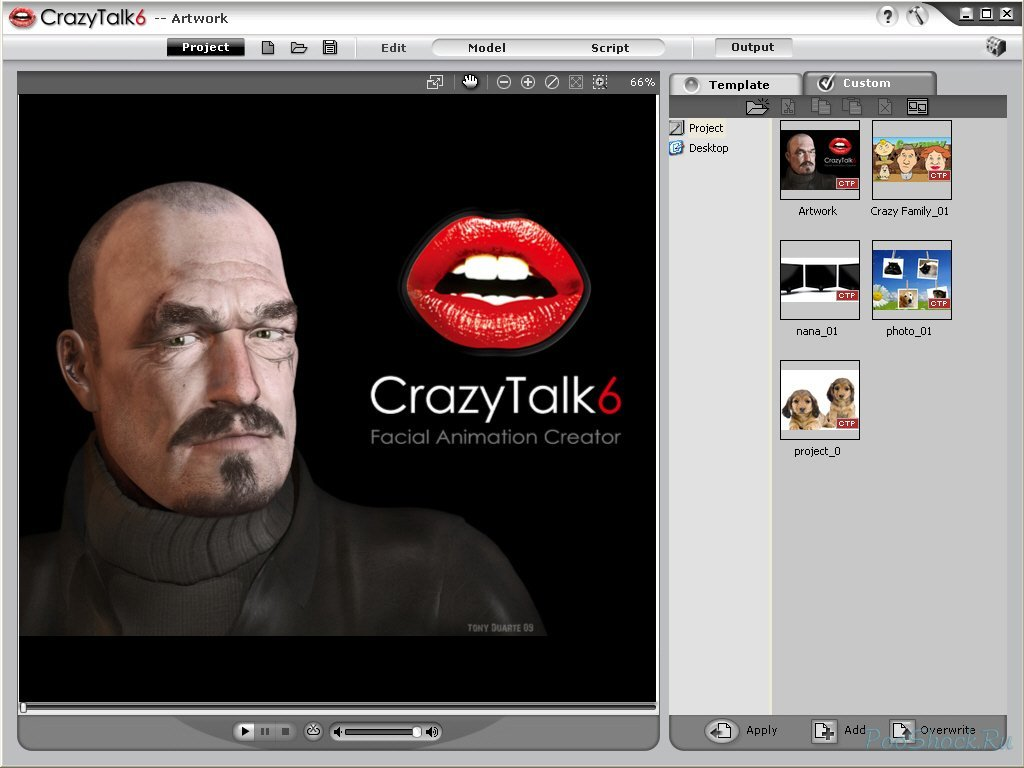Crazytalk 6 Pro Русификатор