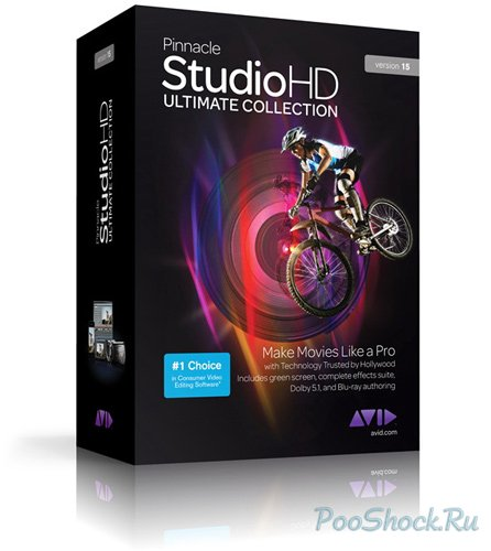 Pinnacle Studio™ HD v.15 Ultimate Collection (Полная версия, с бонус-контентом)