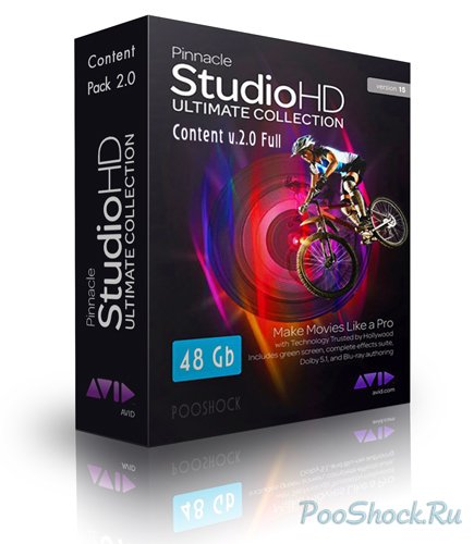 Pinnacle Studio 15 & Content v.2.0 FULL (48Gb)
