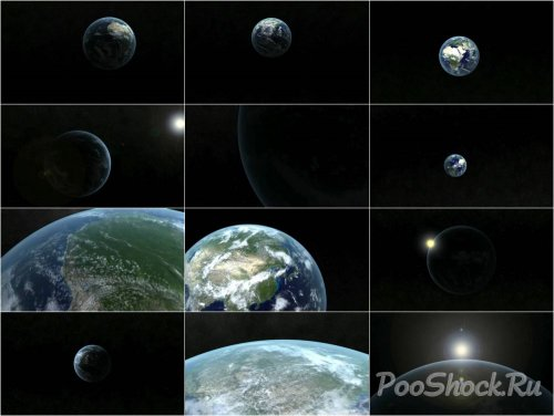 Videohive - high quality earth animations pack