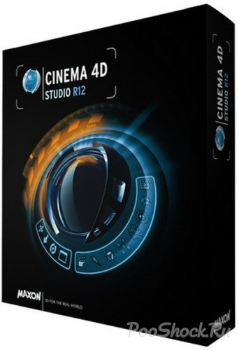 MAXON CINEMA 4D Studio R12.048 Retail (MLRUS)
