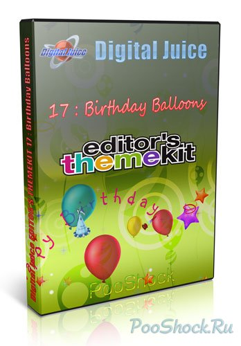 Digital Juice - EDITOR'S THEMEKIT 17: Birthday Balloons