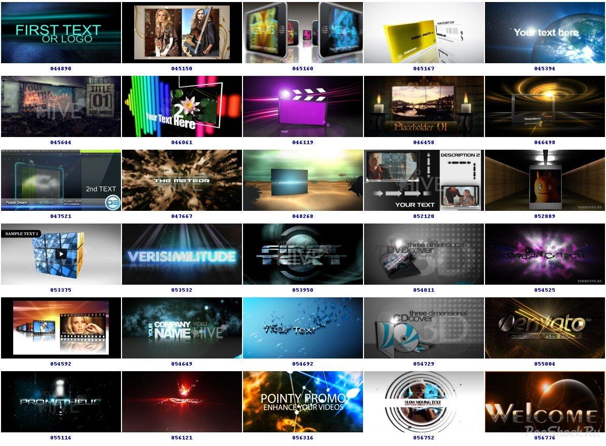 Videohive Projects Pack 3 Videohive Projects Pack 003