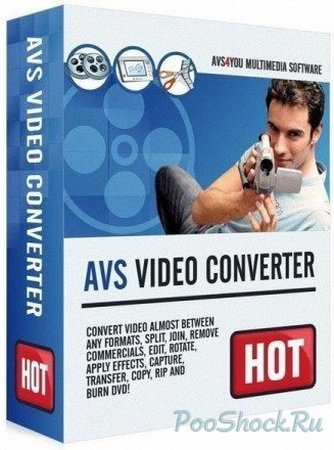 AVS Video Converter 8.0.4.495 RePack (RUSENG)
