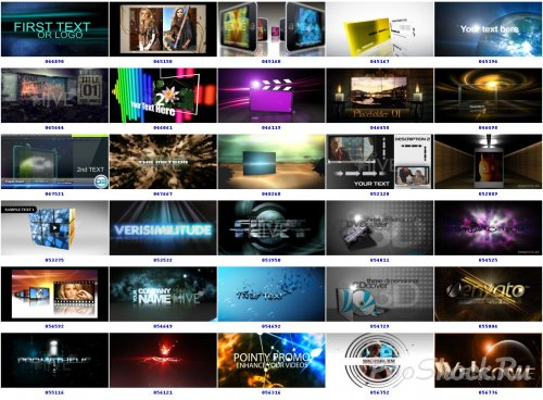 Videohive adobe after effects projects set torrent