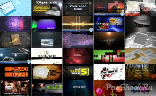 VideoHive Projects Pack - 004