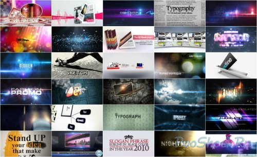 VideoHive Projects Pack - 006