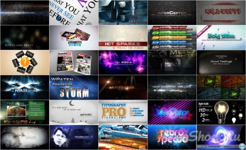VideoHive Projects Pack - 007