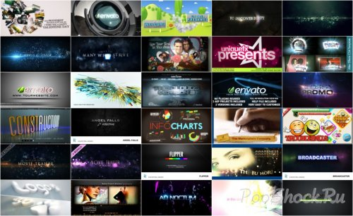 VideoHive Projects Pack - 008