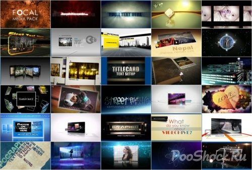 VideoHive Projects Pack - 010