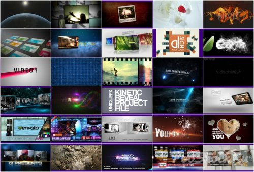 VideoHive Projects Pack - 014