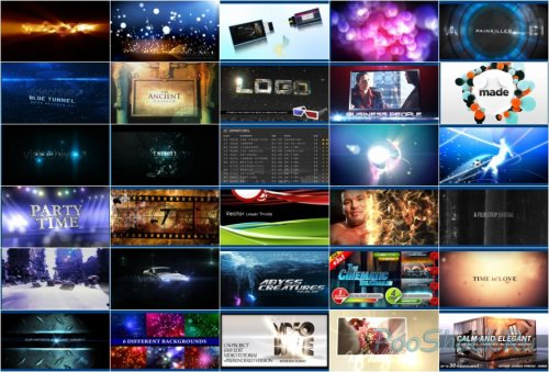 VideoHive Projects Pack - 015