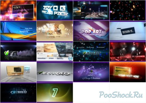 VideoHive Projects Pack - 016