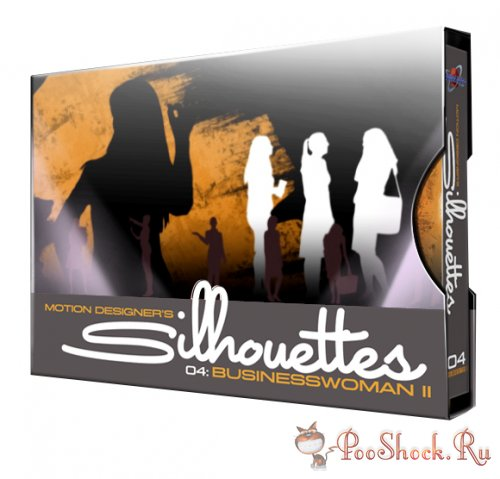 Digital Juice - Motion Designer's Silhouettes vol.4: Businesswoman 2
