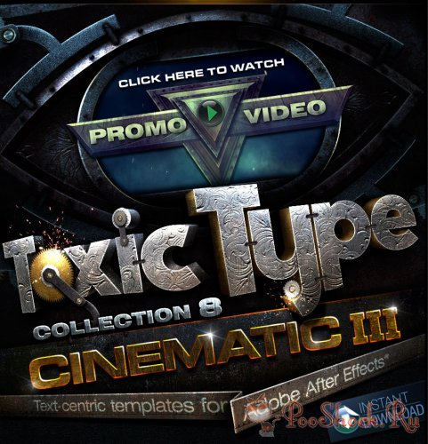 Toxic Type Collection 8: Cinematic (for After Effects)
