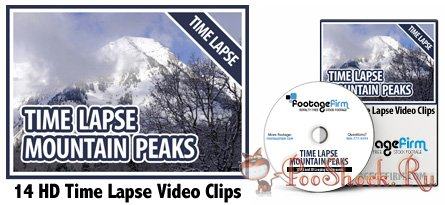 FootageFirm - HD Time Lapse Mountain Peaks