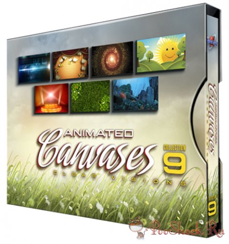 Digital Juice - Animated Canvases Collection 09: Clear Visions