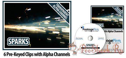 FootageFirm - Sparks Special Effects Clips with Alpha Channels