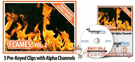 FootageFirm - Flames Vol.2 Special Effects Clips with Alpha Channels