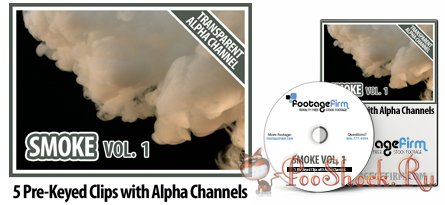 FootageFirm - Smoke Vol.1 Special Effects Clips with Alpha Channels