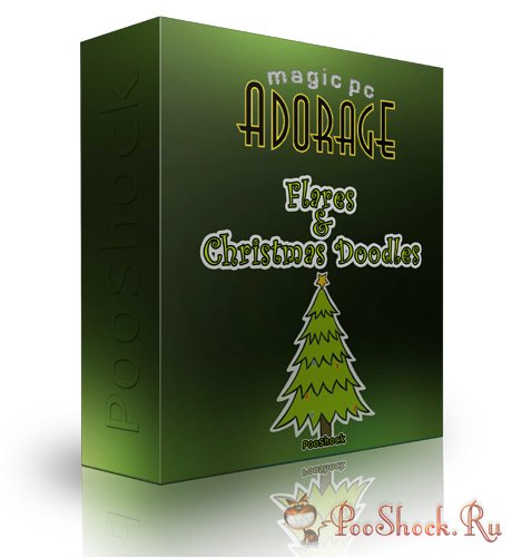 Adorage Flares & Christmas Doodles HD