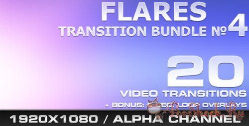 Videohive - Flares Transition Bundle - 4