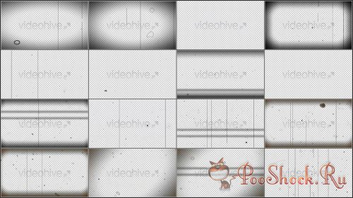 Videohive - Scratches On Film