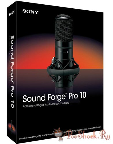 SONY Sound Forge Pro 10.0e Build 507 RUS-ML