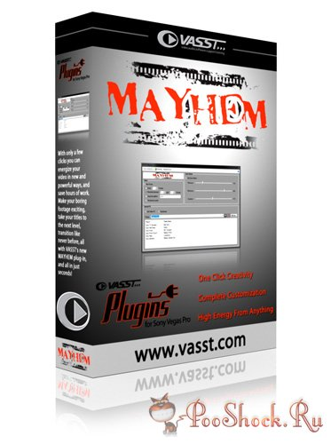 VASST Mayhem v1.0.2 Sony Vegas Plug-In