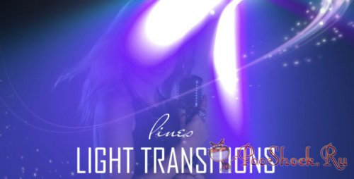 Videohive - Lines Light Transitions (15-Pack)