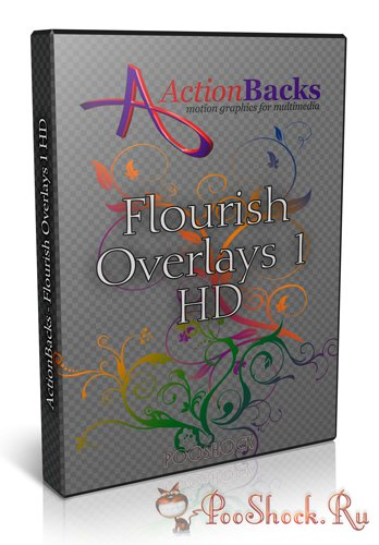 ActionBacks - Flourish Overlays 1 HD