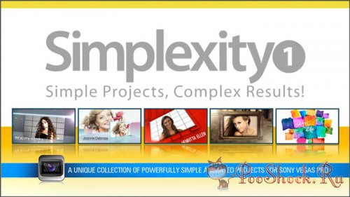Digital Juice - Simplexity Collection 1 (for Sony Vegas)