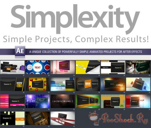 Digital Juice Simplexity 5 (for After Effects)