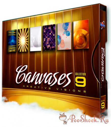 Digital Juice Canvases Collection 9: Creative Visions (JPG)