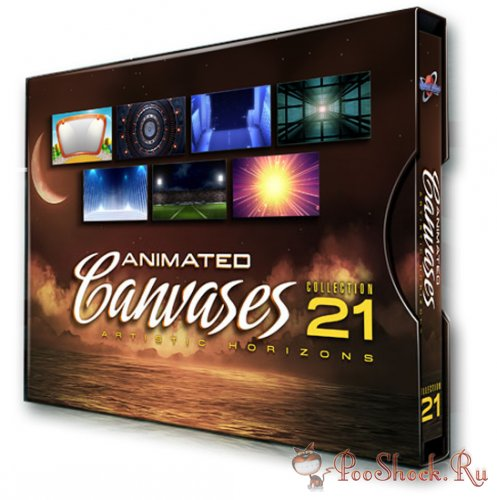 Digital Juice - Animated Canvases Collection 21