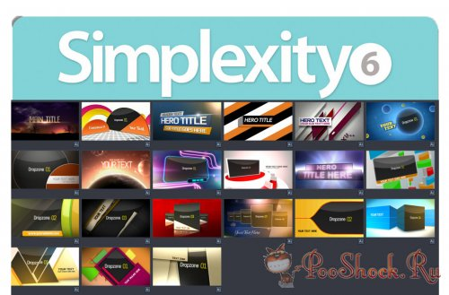 Digital Juice Simplexity 6 (for After Effects)