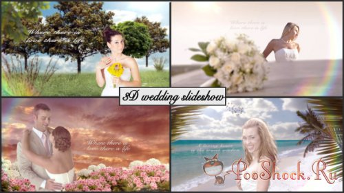 VideoHive - 3D Wedding slideshow (Project for After Effects)