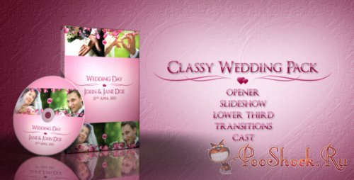 VideoHive - Classy Wedding Pack (Project for After Effects)