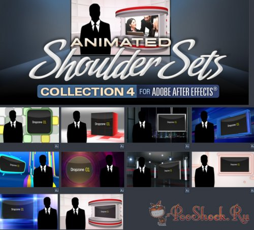 Digital Juice - Animated Shoulder Sets Collection 4 (for After Effects)