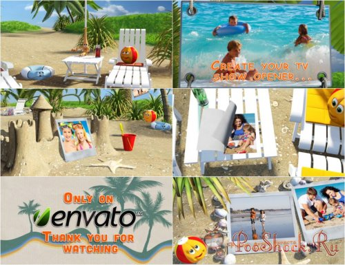 VideoHive - Magic Summer (Project for After Effects)