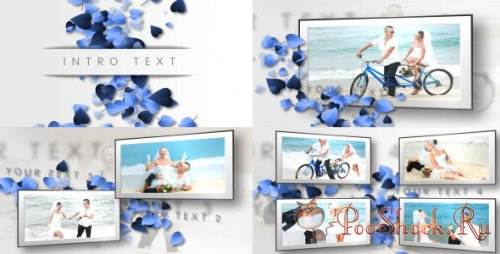 VideoHive - Hearts, Clean Wedding Slideshow (AE Project)